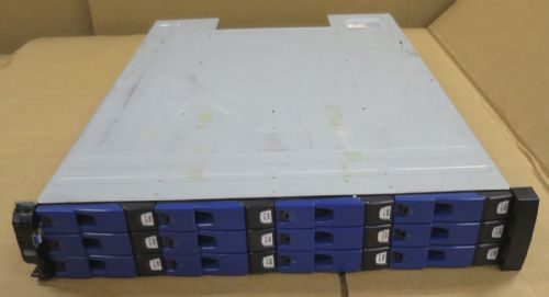 Dell Compellent HB-1235 12-Bay SAS Enclosure 12x 450GB 15k HDD 1x Controller